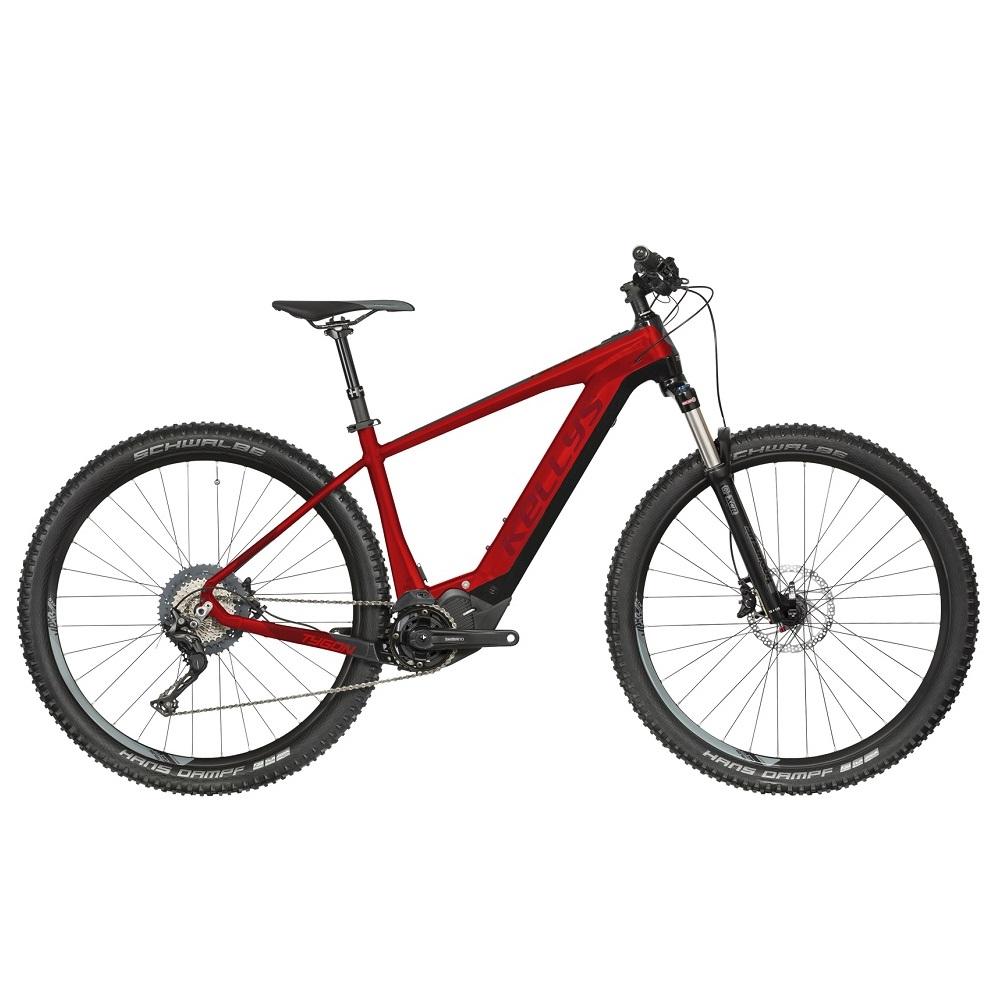 """Horský elektrobicykel KELLYS TYGON 50 27,5"""" - model 2019 Red - S (15,5"""") - Záruka 10 rokov"""