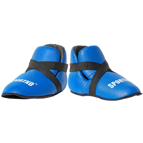 Chrániče nôh SportKO 333 modrá - L