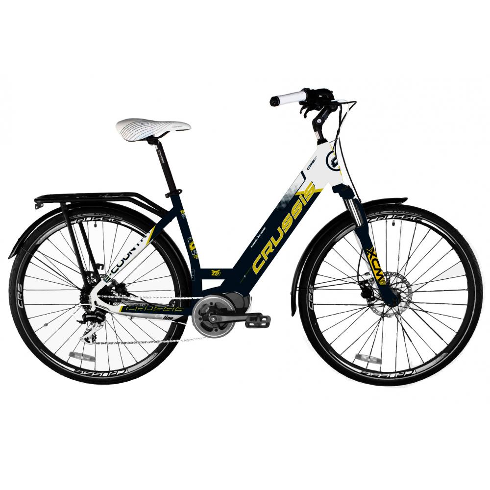 """Mestský elektrobicykel Crussis e-Country 7.5 - model 2020 19"""" - Záruka 10 rokov"""