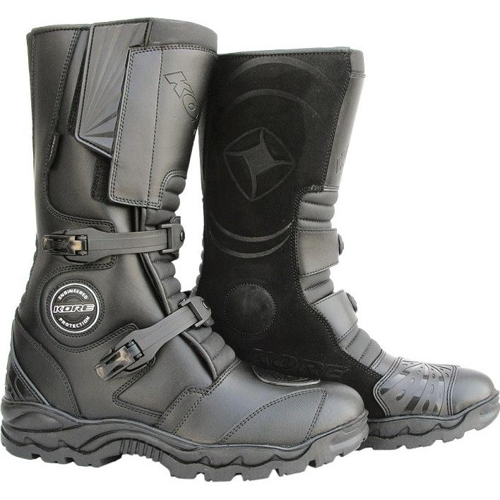 39e535438a Moto topánky KORE Adventure čierna - 45