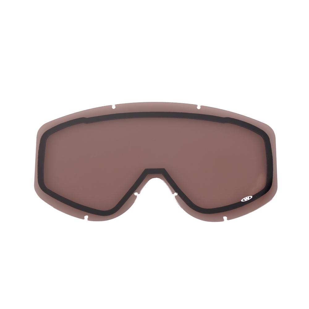 Náhradné sklo k okuliarom WORKER Gordon zrkadlovo dýmové