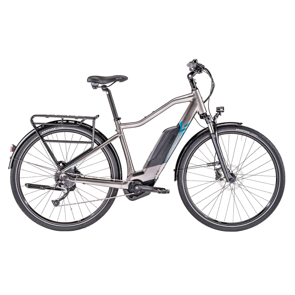 "Trekingový elektrobicykel Lapierre Overvolt Trekking 600 400Wh 28"" - model 2019 L (530 mm) - Záruka 10 rokov"