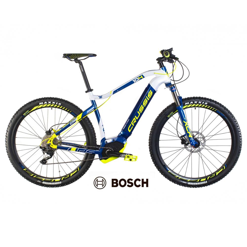 "Horský elektrobicykel Crussis e-Largo 10.4 - model 2019 18"" - Záruka 10 rokov"