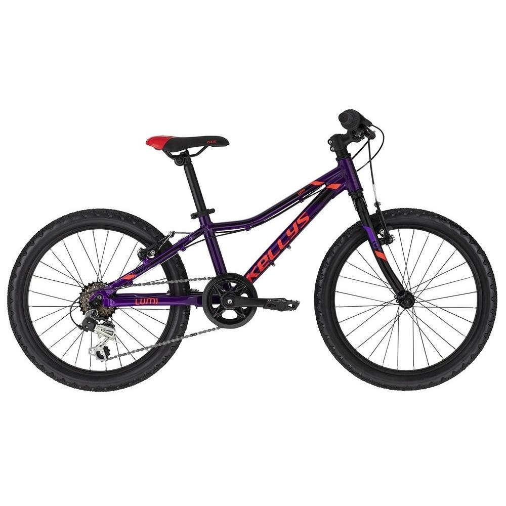 "Detský bicykel KELLYS LUMI 30 20"" - model 2020 Purple - Záruka 10 rokov"