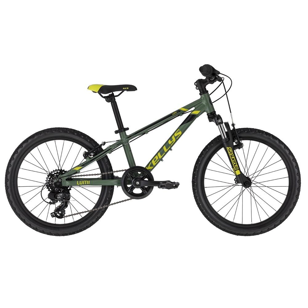 "Detský bicykel KELLYS LUMI 50 20"" - model 2020 Green - Záruka 10 rokov"