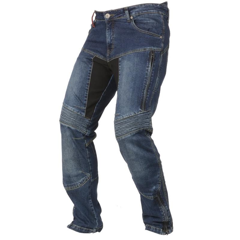 Pánske moto jeansy Ayrton 505 modrá - 44/32