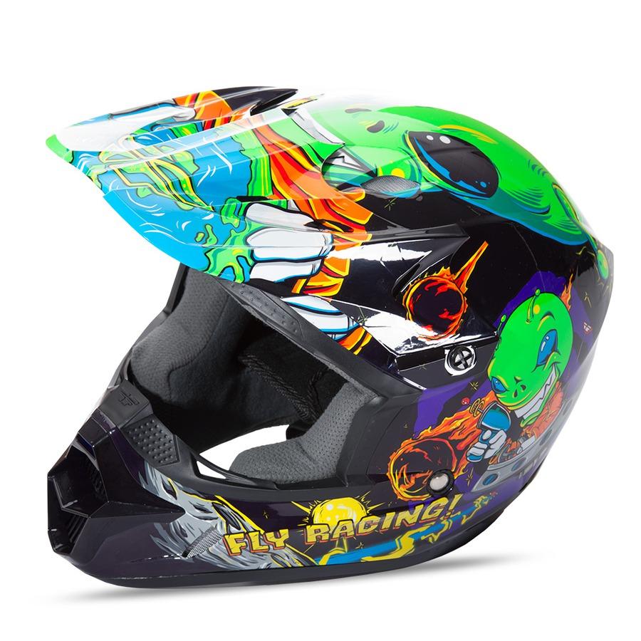 Detská motokrosová prilba Fly Racing Kinetic Youth Invasion