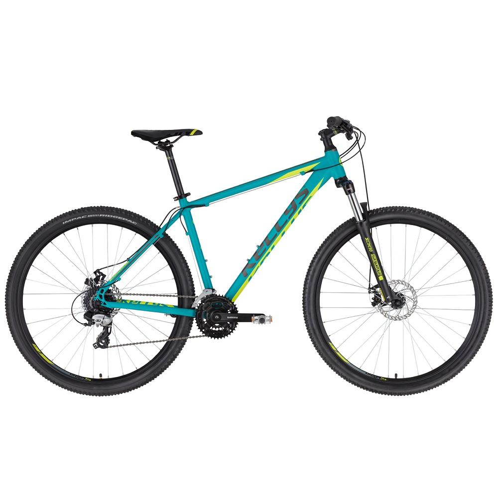 "Horský bicykel KELLYS MADMAN 30 27,5"" - model 2020 Turquoise - M (19'') - Záruka 10 rokov"