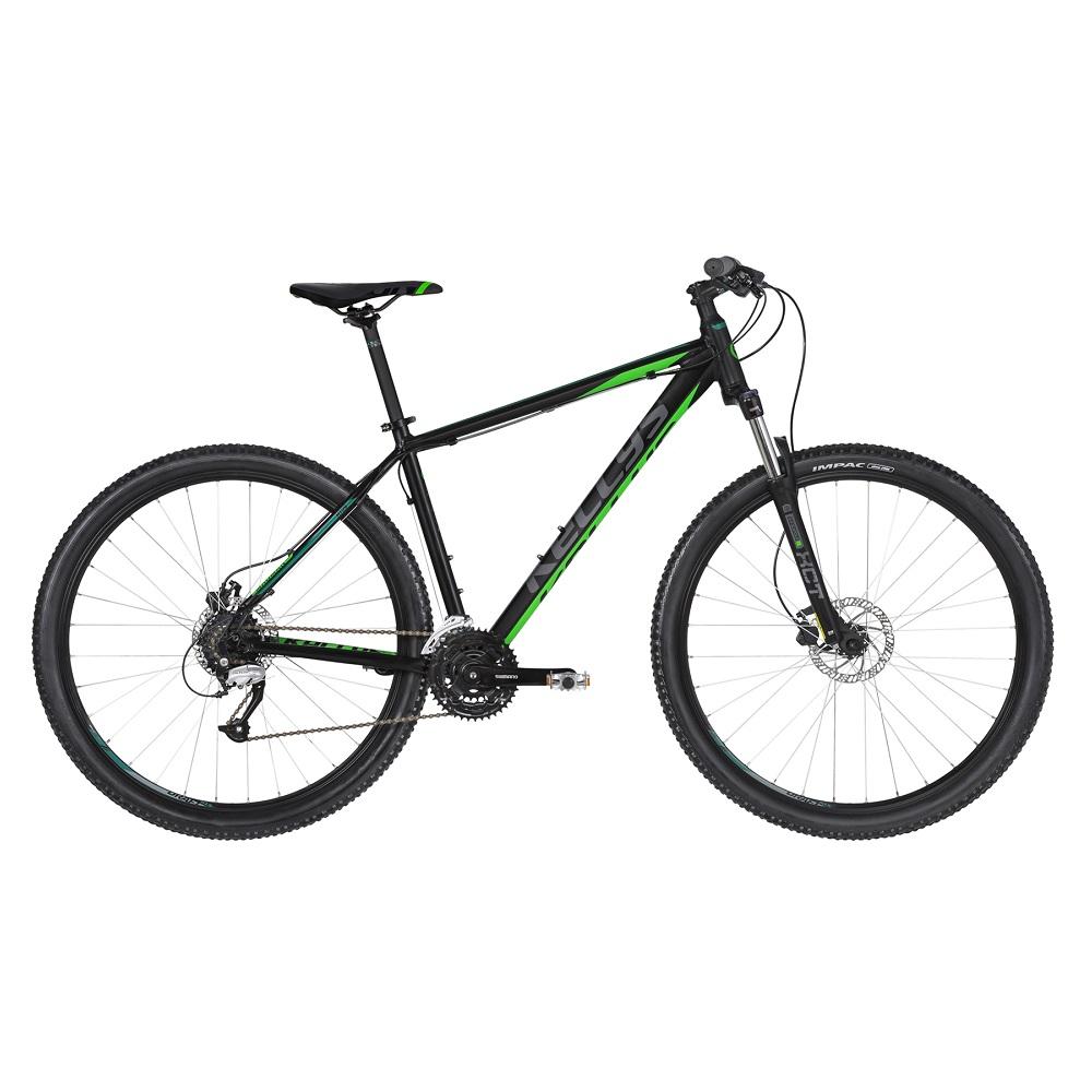 "Horský bicykel KELLYS MADMAN 50 27,5"" - model 2020 Black Green - S (17'') - Záruka 10 rokov"