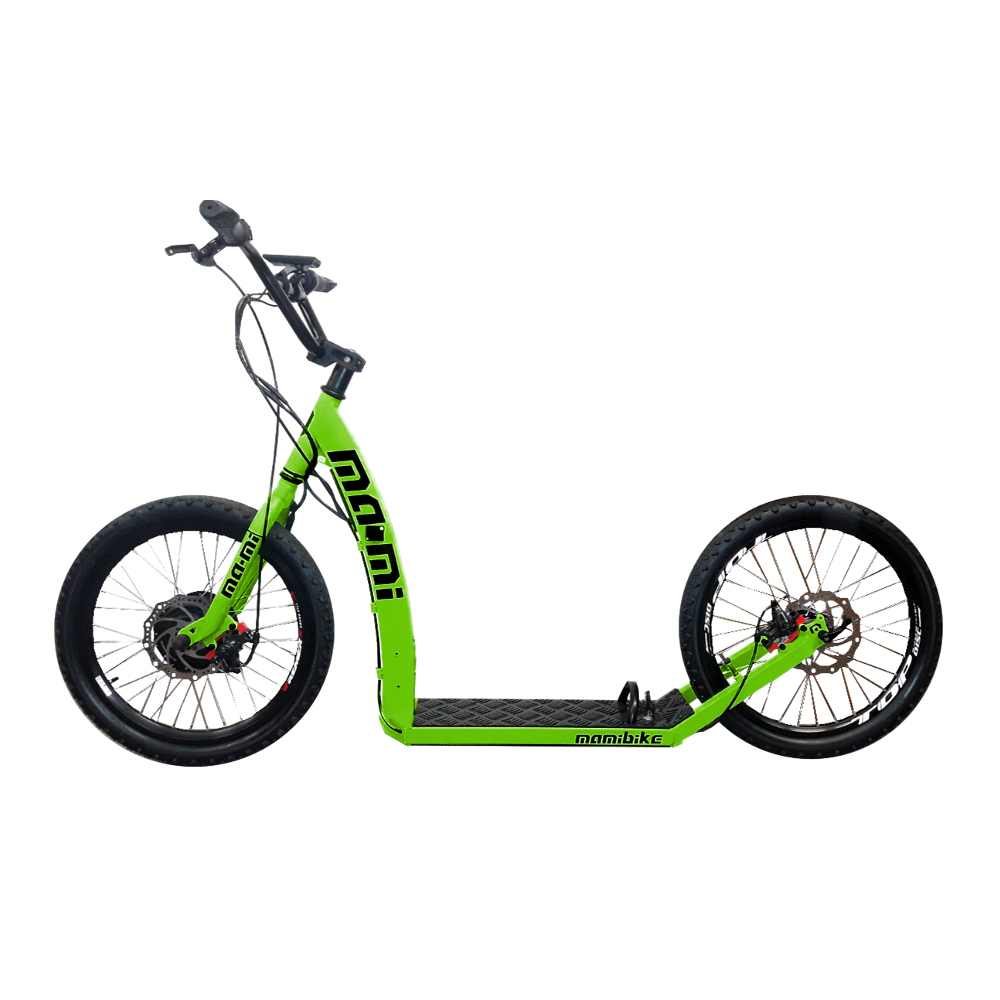 Elektrokolobežka MA-MI PONY s rýchlonabíjačkou zelená