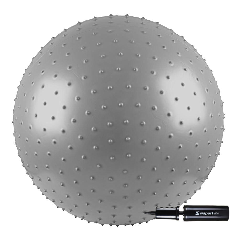 Gymnastická a masážna lopta inSPORTline 65 cm