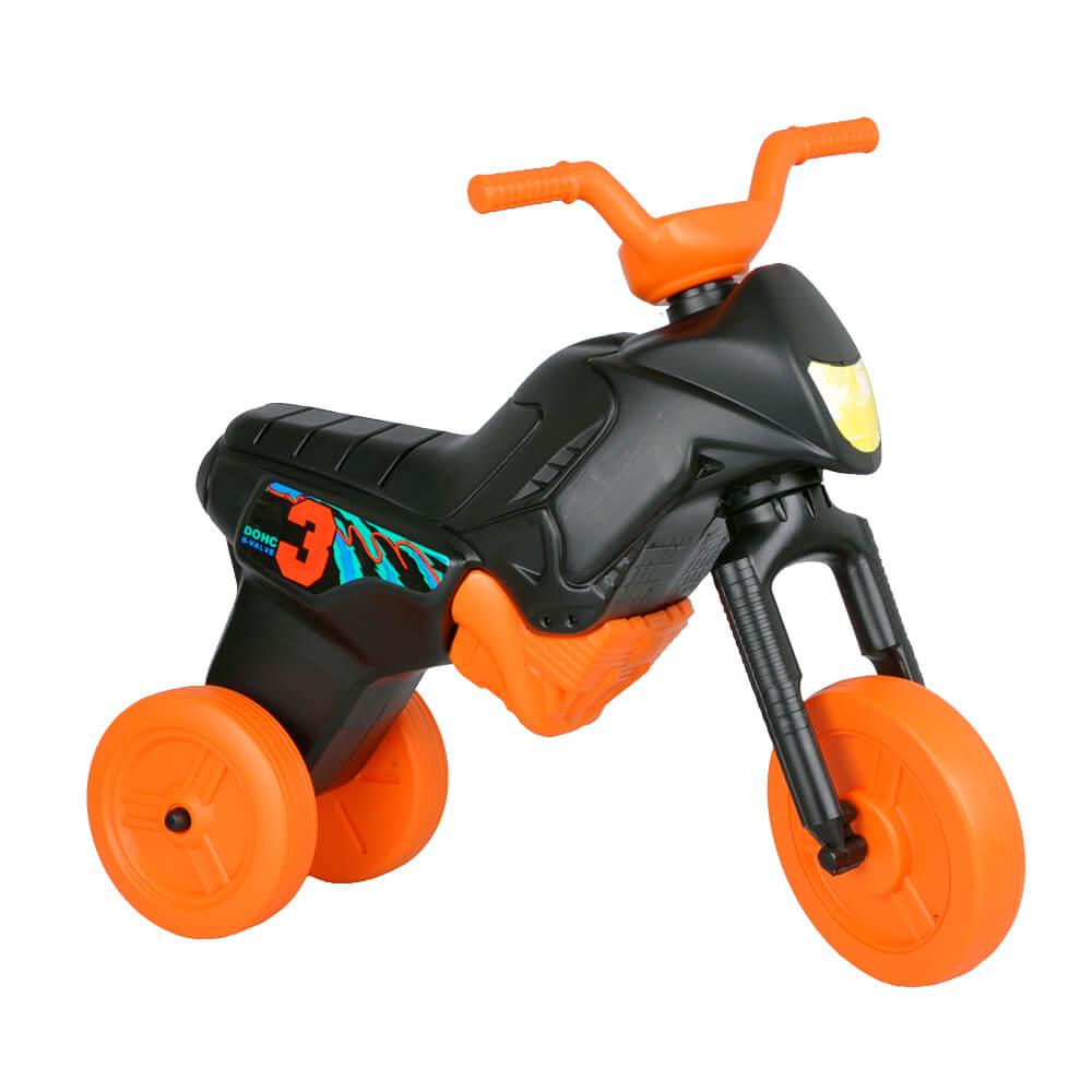 Odrážadlo Enduro Maxi čierno-oranžová