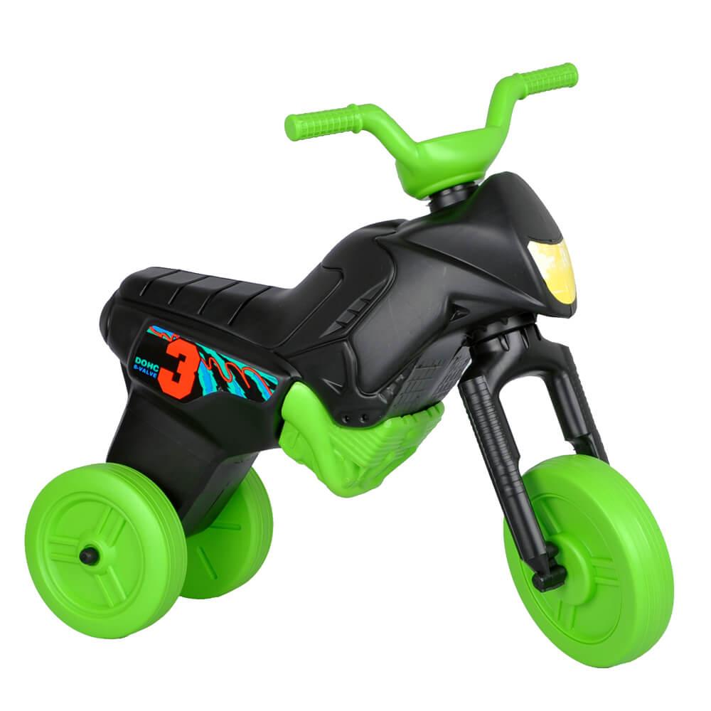 Odrážadlo Enduro Maxi čierno-zelená