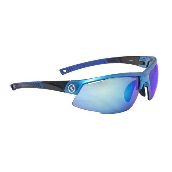 Cyklistické okuliare KELLYS Force modrá