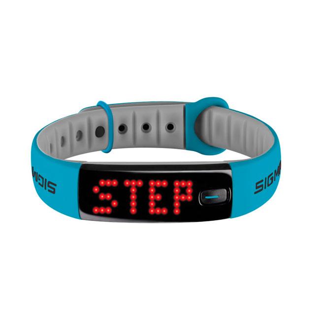 Fitness náramok Sigma Activo modro-šedá