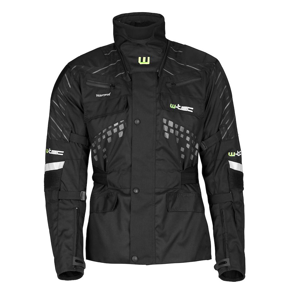 Moto bunda W-TEC Astar čierna - M