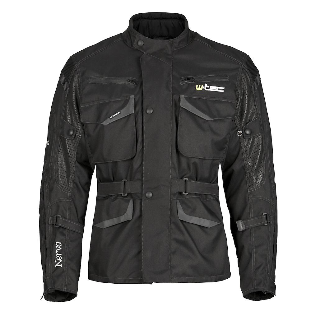 Moto bunda W-TEC Nerva čierna - M