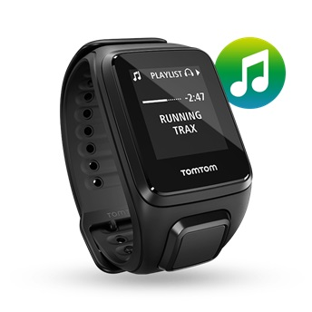 GPS hodinky TomTom Spark Fitness Music + slúchadlá