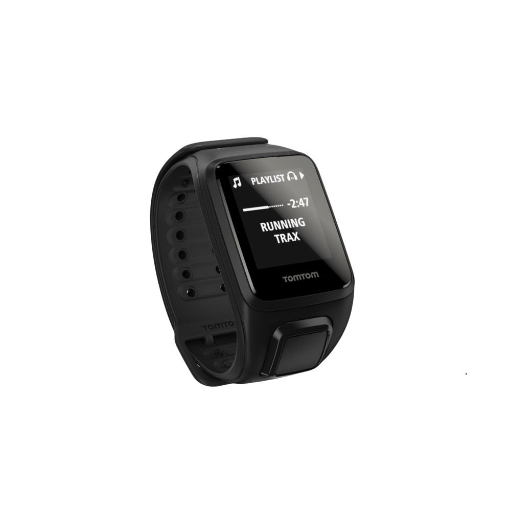 GPS hodinky TomTom Spark Fitness Music + slúchadlá čierna - L (143-206 mm)