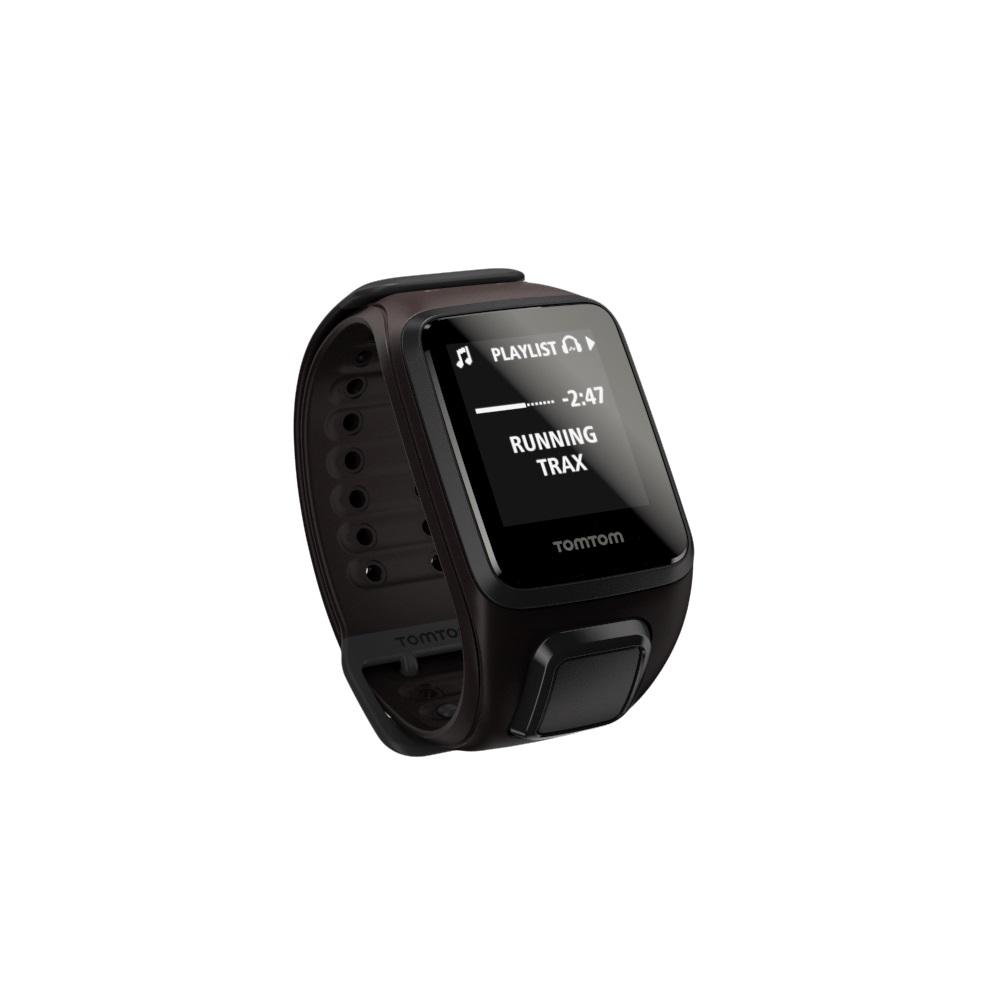GPS hodinky TomTom Spark Fitness Music hnedá - L (143-206 mm)