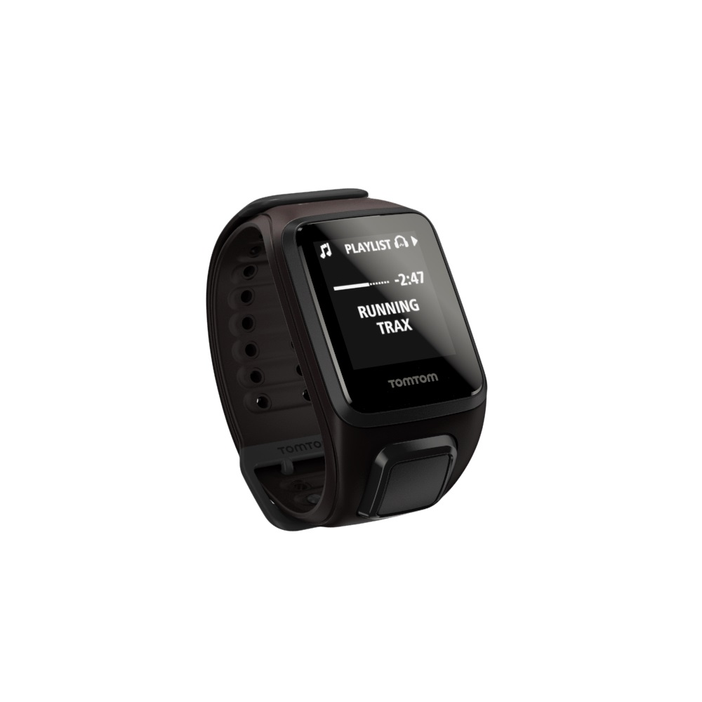 Športtester s GPS TomTom Spark Fitness Cardio + Music hnedá - L (143-206 mm)