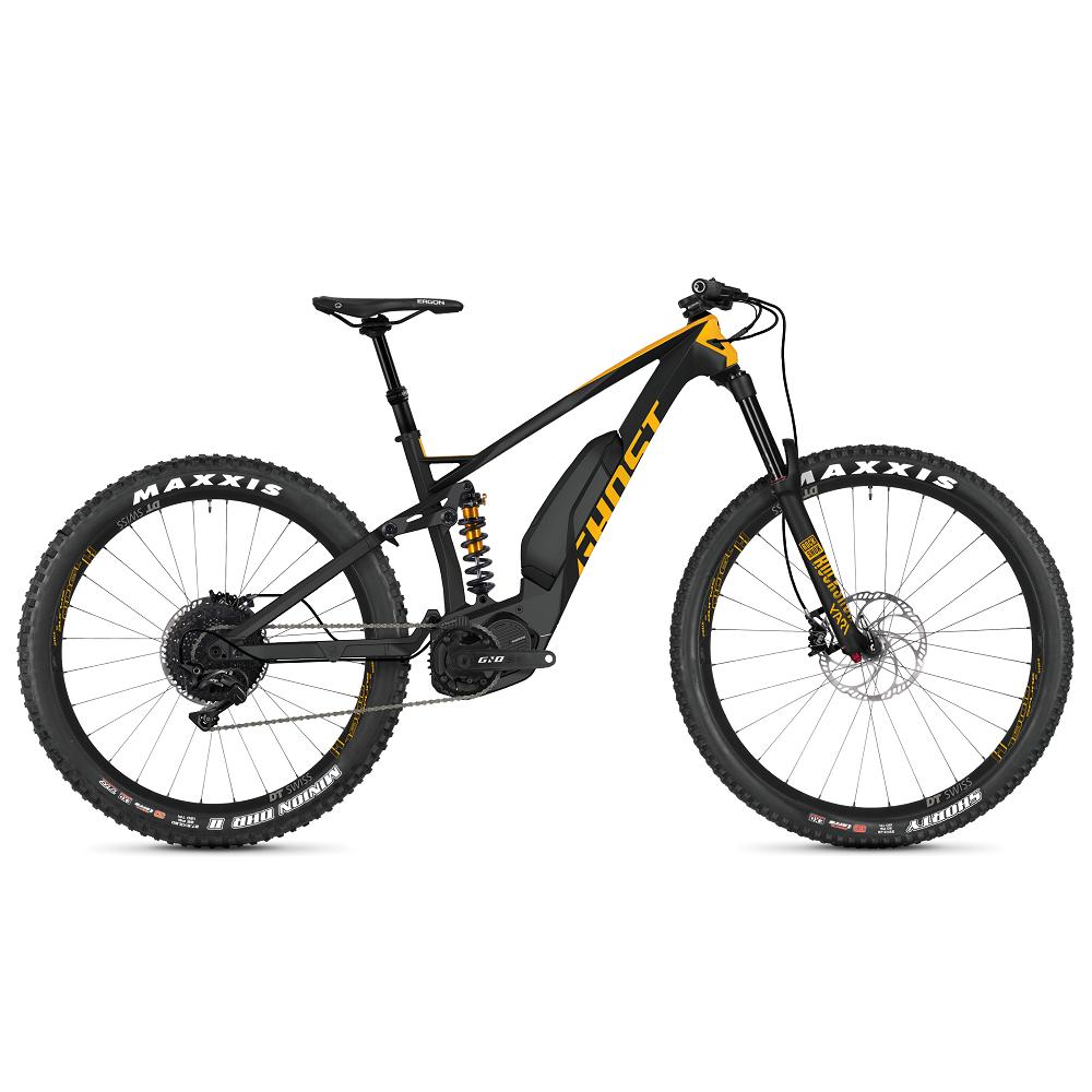 "Celoodpružený elektrobicykel Ghost Hybride SL AMR X S5.7+ LC 29"" - model 2019 XL (19,5"") - Záruka 10 rokov"