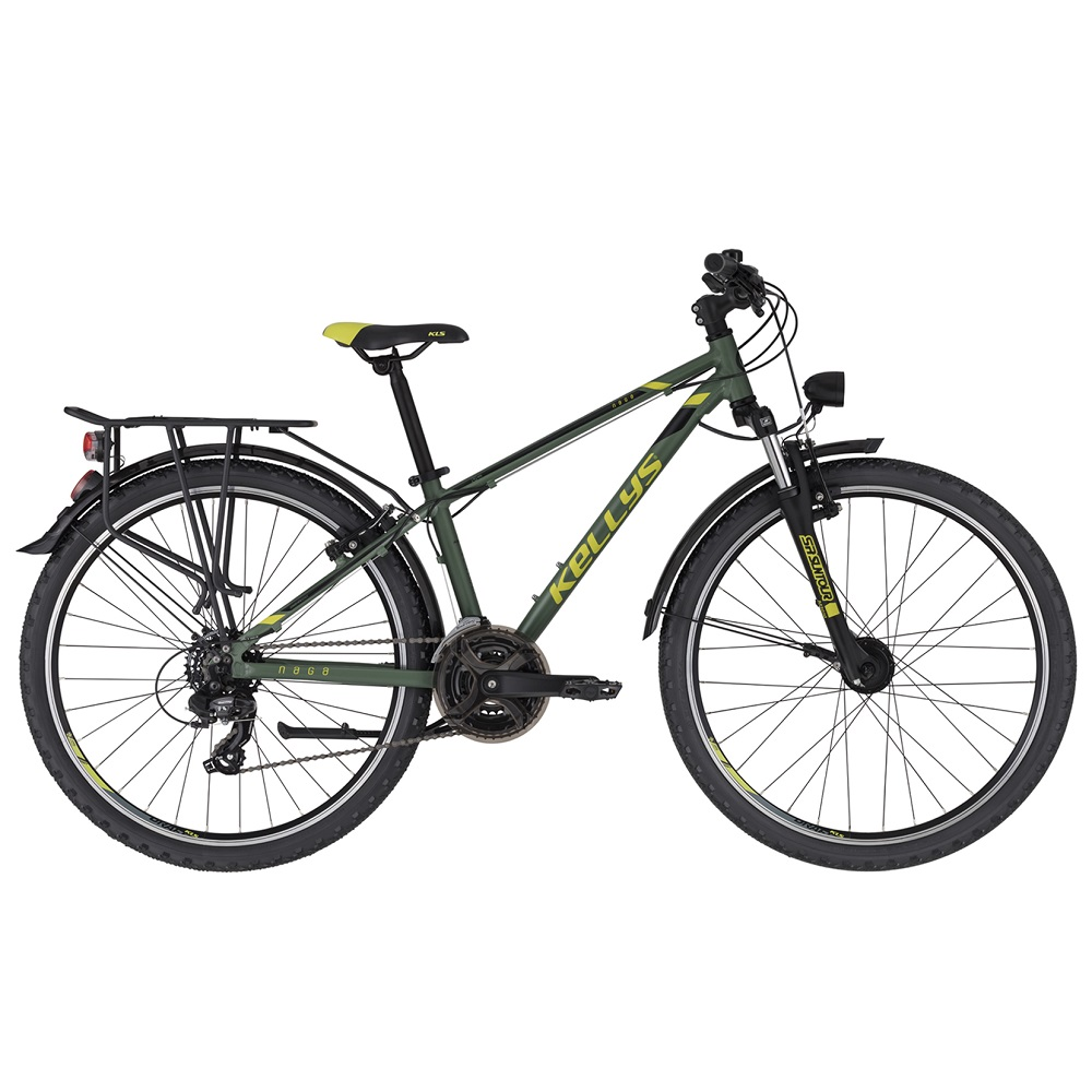 "Juniorský bicykel KELLYS NAGA 80 26"" - model 2020 13,5"" - Záruka 10 rokov"