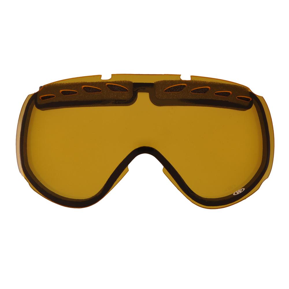 Náhradné sklo k okuliarom WORKER Molly žlté