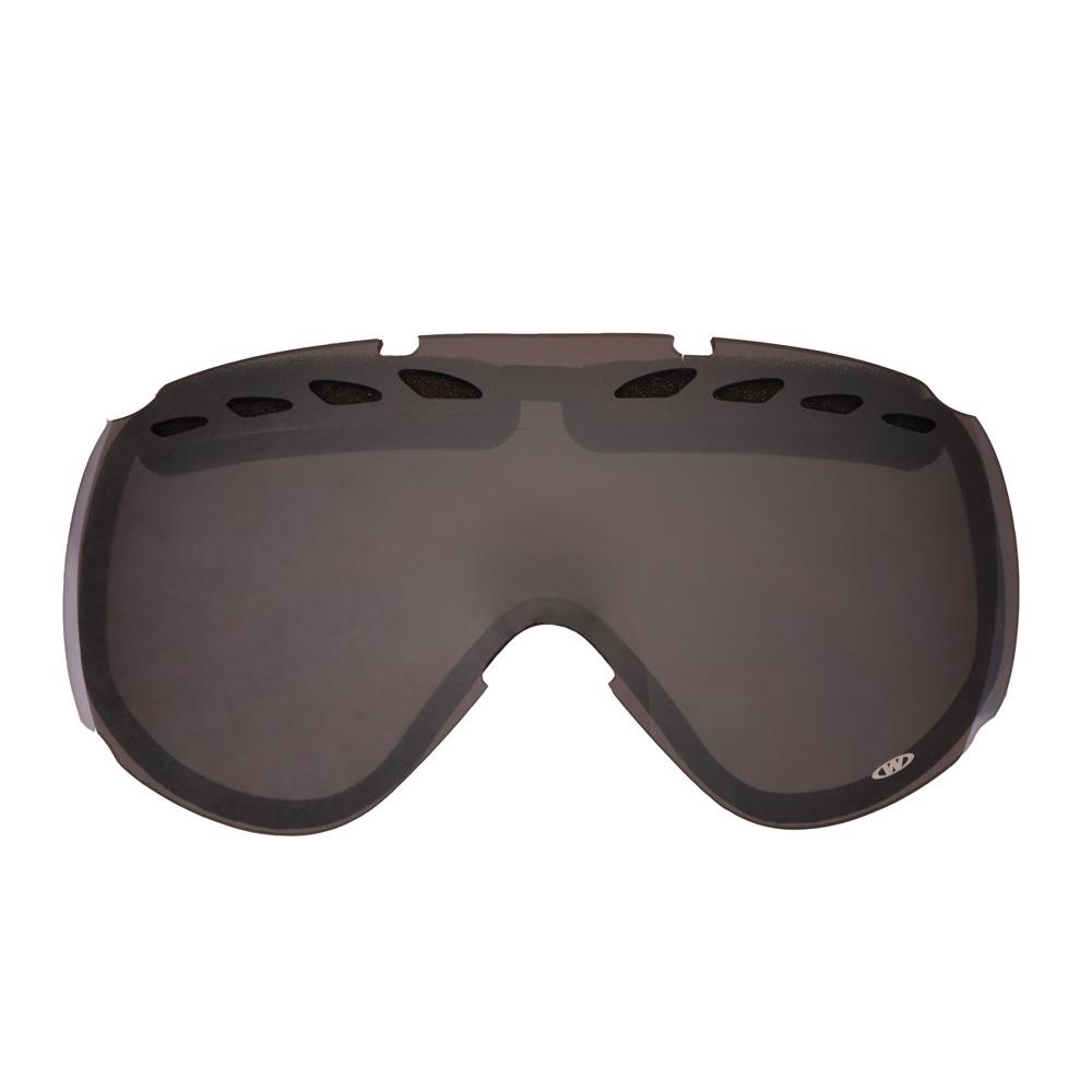 Náhradné sklo k okuliarom WORKER Bennet zrkadlovo dýmové