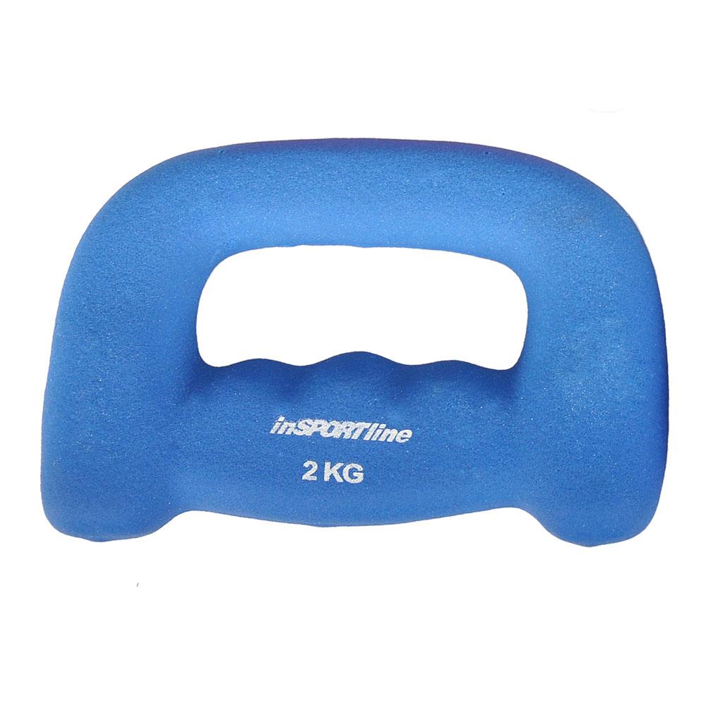 Neoprénová jednoručná činka inSPORTline Jogging 2 kg