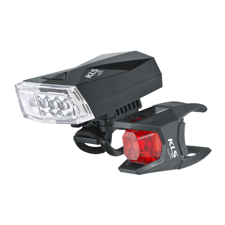 Sada svetiel na bicykel Kellys Noble Lightning Set