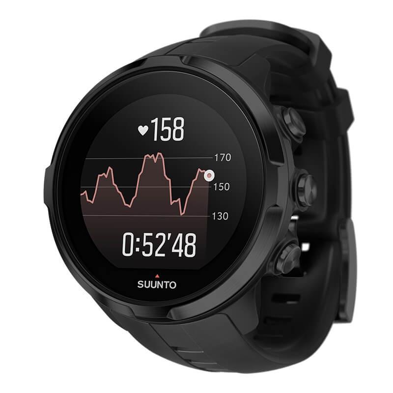 Športové hodinky SUUNTO Spartan Sport Wrist HR All Black