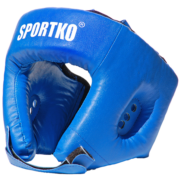 Boxerský chránič hlavy SportKO OD1 modrá - M
