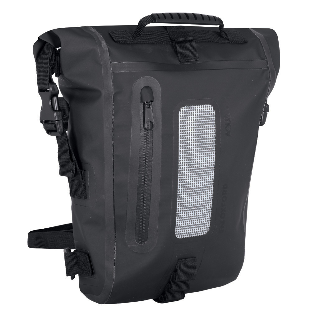 Taška na sedlo Oxford Aqua T8 Tail Bag čierna