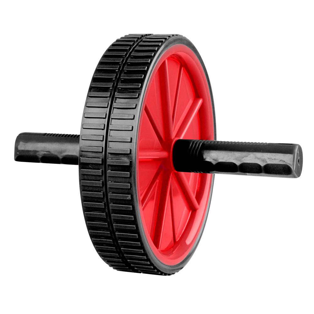 Posilňovacie koliesko Laubr Ab Roller červená