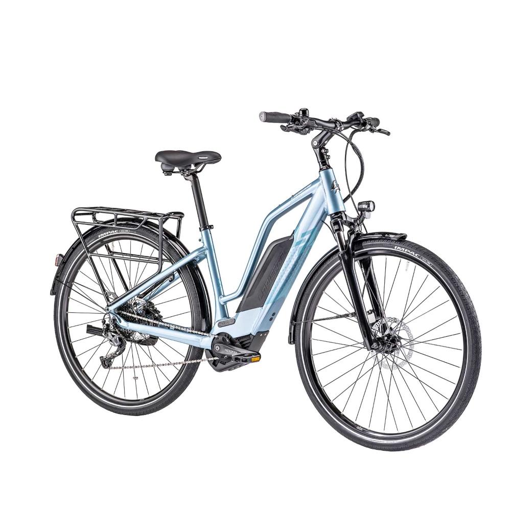 "Dámsky trekingový elektrobicykel Lapierre Overvolt Trekking 600 W 400Wh 28"" - model 2019 S (400 mm) - Záruka 10 rokov"