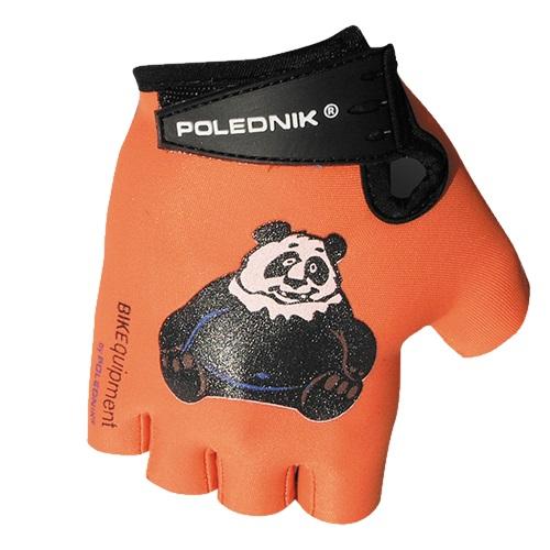 Detské cyklo rukavice Polednik Baby panda - 5