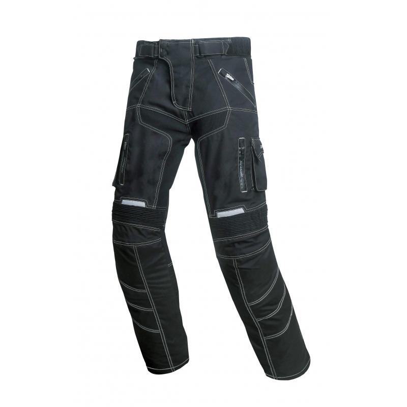 Unisex moto nohavice Spark Pero čierna - XL