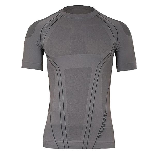 724406994b6a Pánske termo tričko Brubeck FIT s krátkym rukávom šedá - L