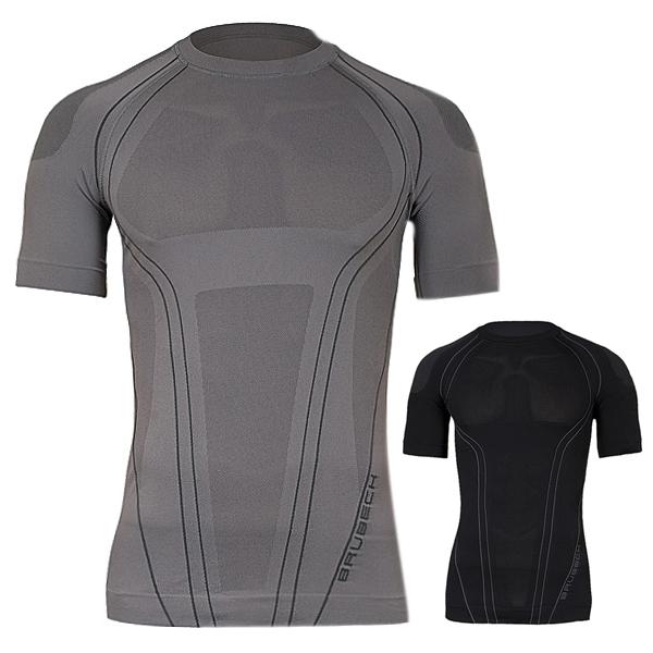Pánske termo tričko Brubeck FIT s krátkym rukávom