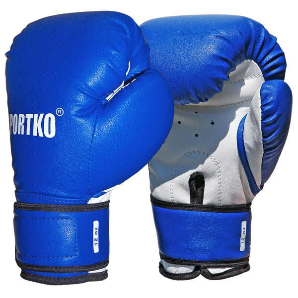 Boxerské rukavice SportKO PD2 modrá - 12oz