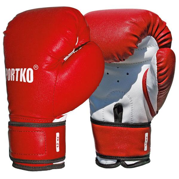 Boxerské rukavice SportKO PD2 červená - 12oz