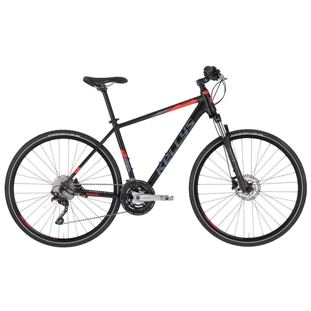 """Pánsky crossový bicykel KELLYS PHANATIC 50 28"""" - model 2020 S (17'') - Záruka 10 rokov"""