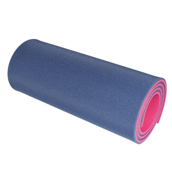 Dvojvrstvová karimatka Yate 12 mm modro-ružová