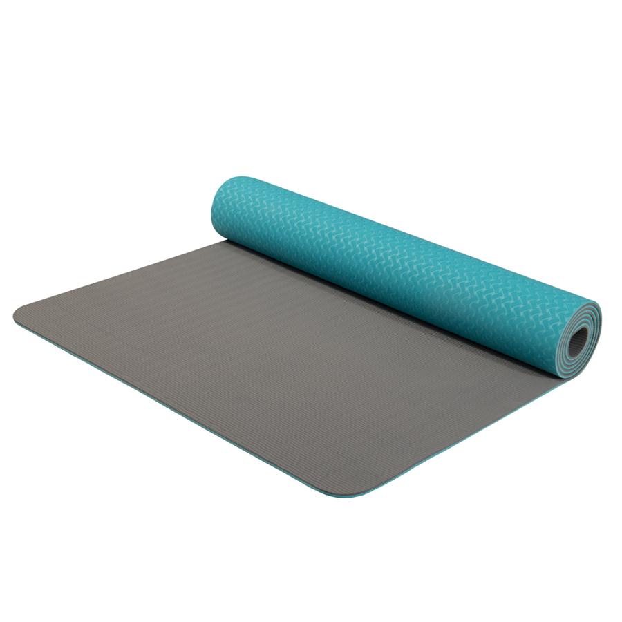 Dvojvrstvová podložka Yate Yoga Mat TPE 173x61x0,6 cm