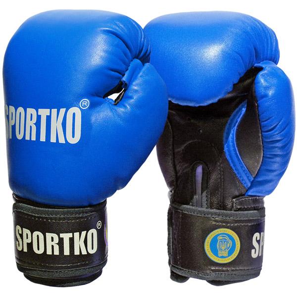 Boxerské rukavice SportKO PK1 modrá - 10 5e0f801894