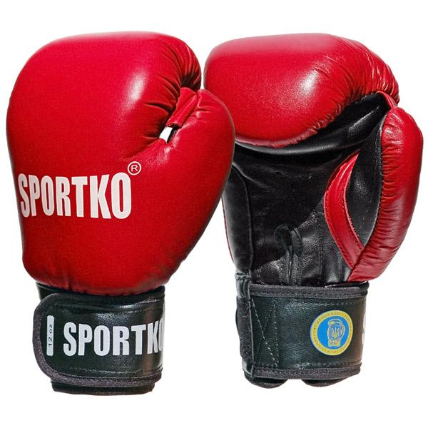 Boxerské rukavice SportKO PK1 červená - 10
