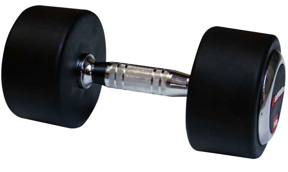 Profi pogumovaná jednoručka inSPORTline 17,5 kg