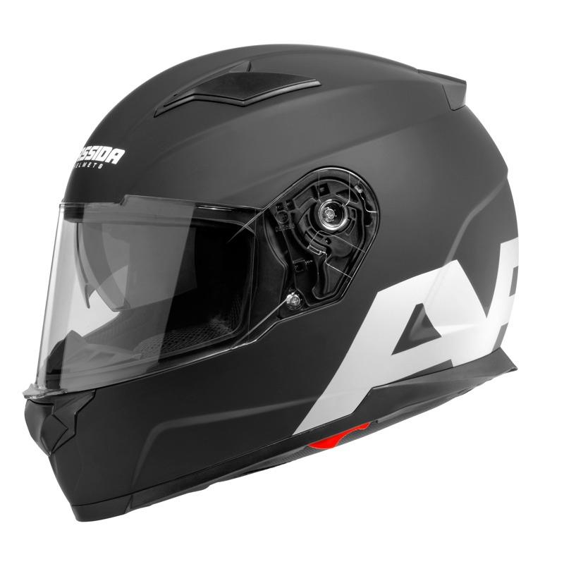 Moto prilba Cassida Apex Vision čierna matná/šedá reflexná - XXL (63-64)