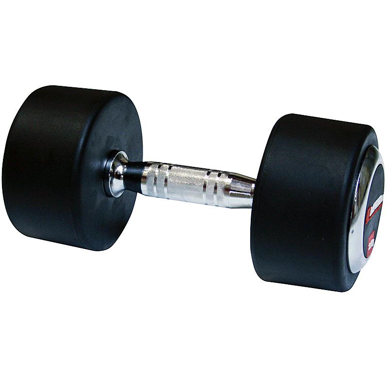 Profi pogumovaná jednoručka inSPORTline 40 kg